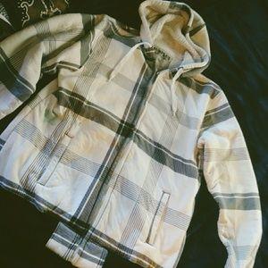 Surplus warm zip-up hoodie